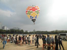 熱気球係留体験の様子2