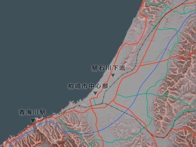 2007年中越沖地震 緊急撮影|アジア航測株式会社