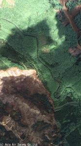 DMC-1 荒砥沢ダム上流部の大規模地すべり