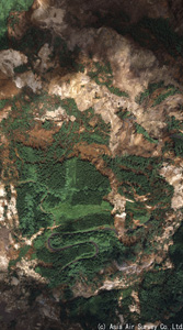 DMC-2 荒砥沢ダム上流部の大規模地すべり