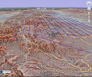 GoogleEarthによる情報提供  - 赤色立体地図追加 -