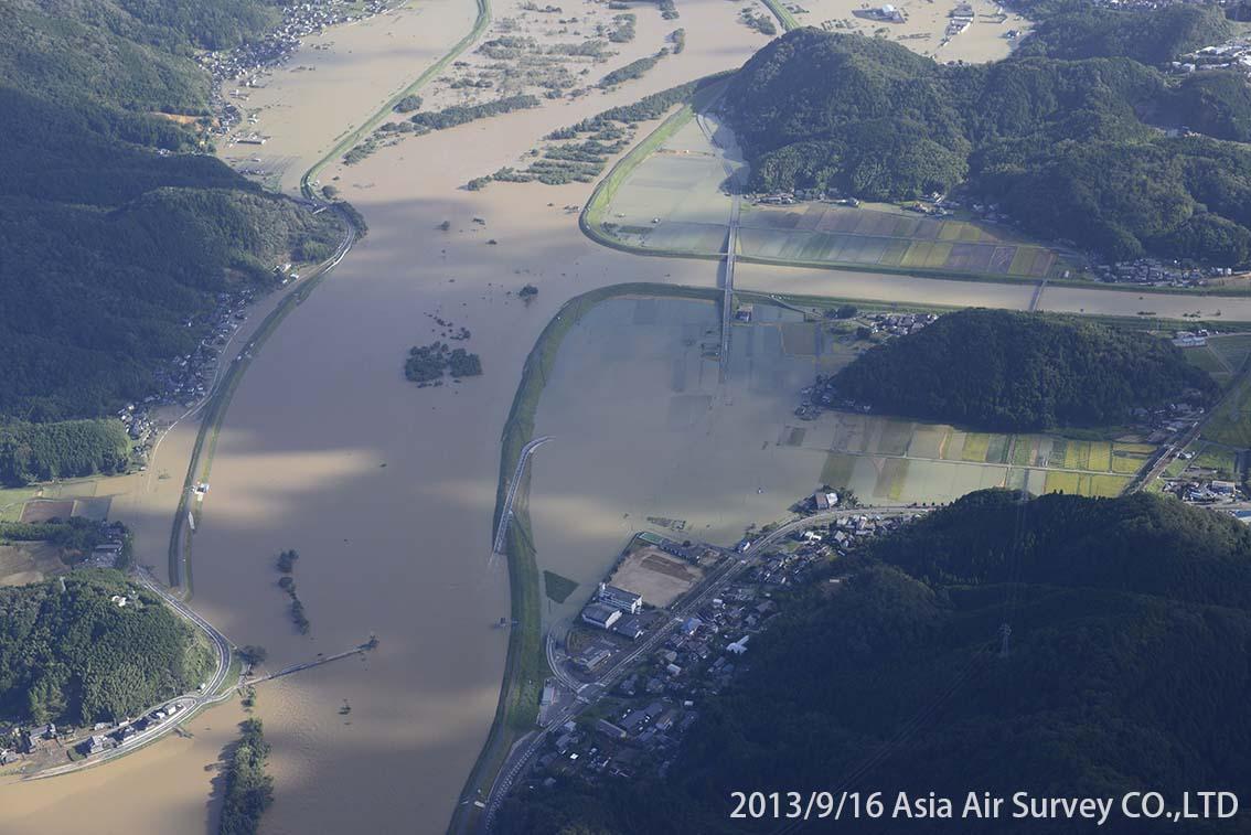 由良川地区 斜め空中写真_8