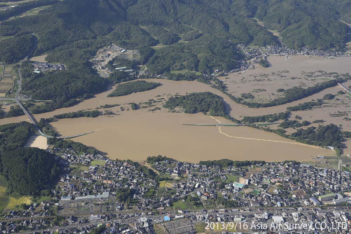 由良川地区 斜め空中写真_14
