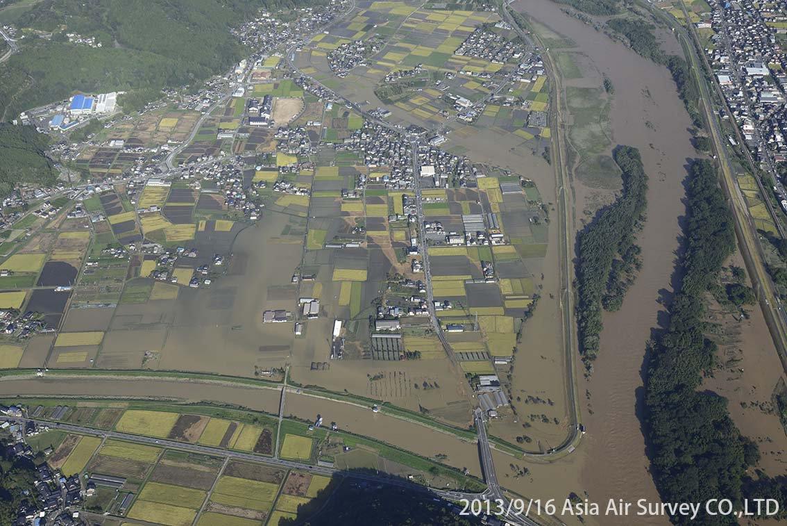 由良川地区 斜め空中写真_22