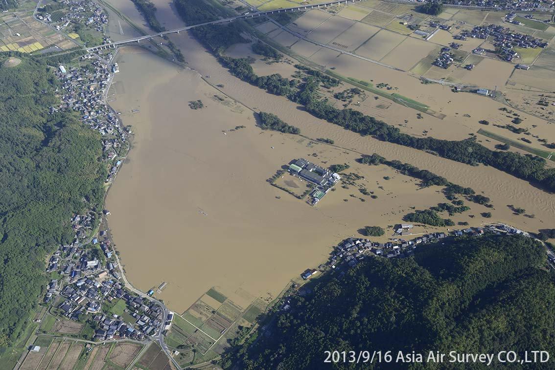 由良川地区 斜め空中写真_19
