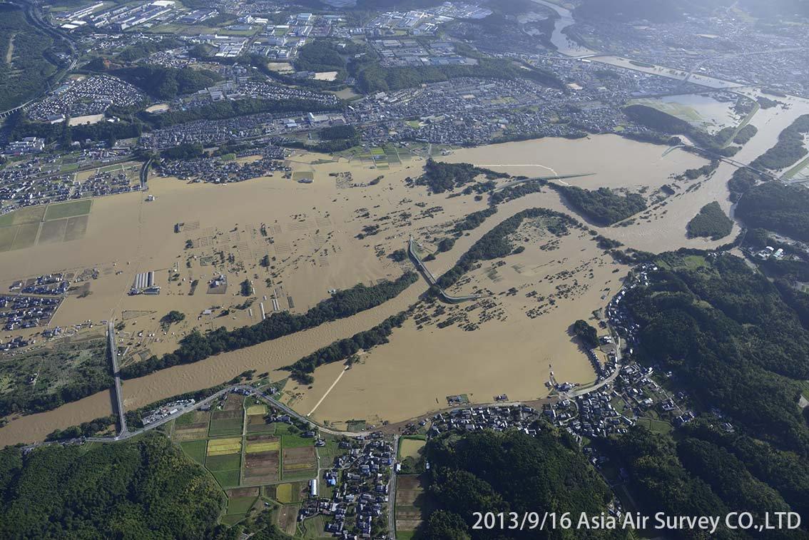 由良川地区 斜め空中写真_16