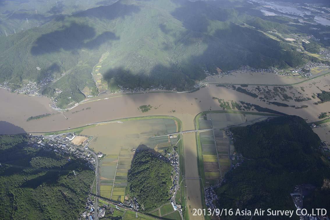 由良川地区 斜め空中写真_9
