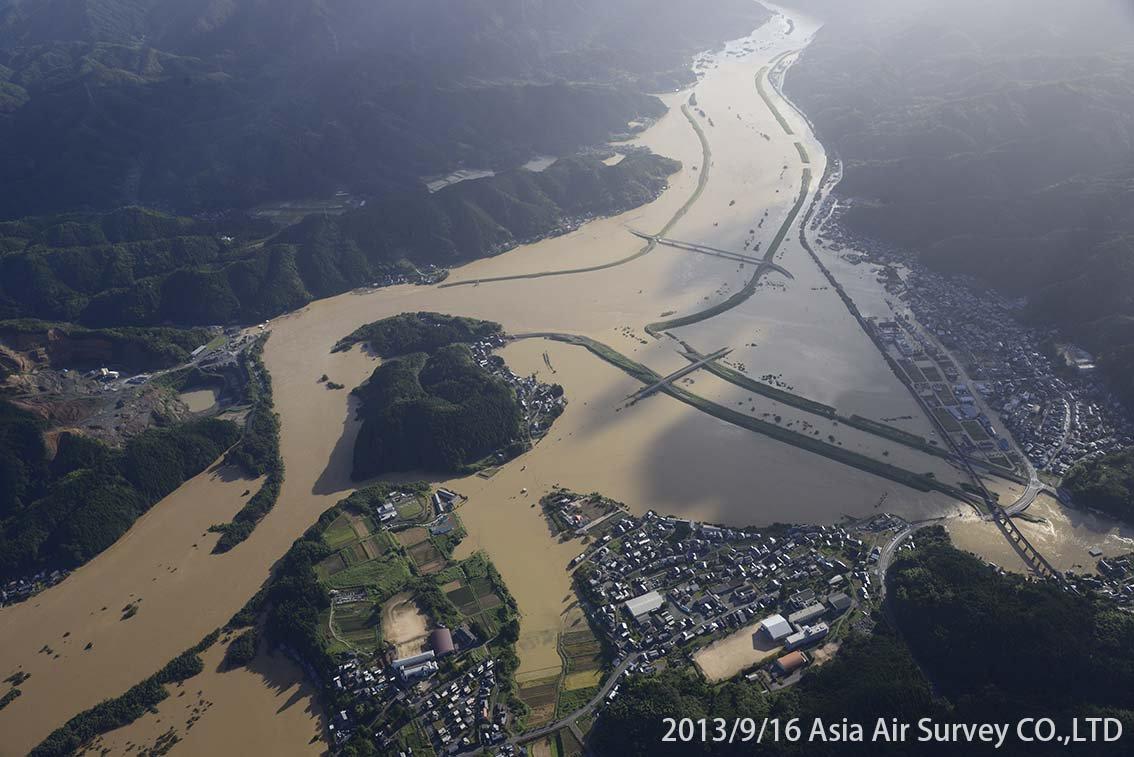 由良川地区 斜め空中写真_6