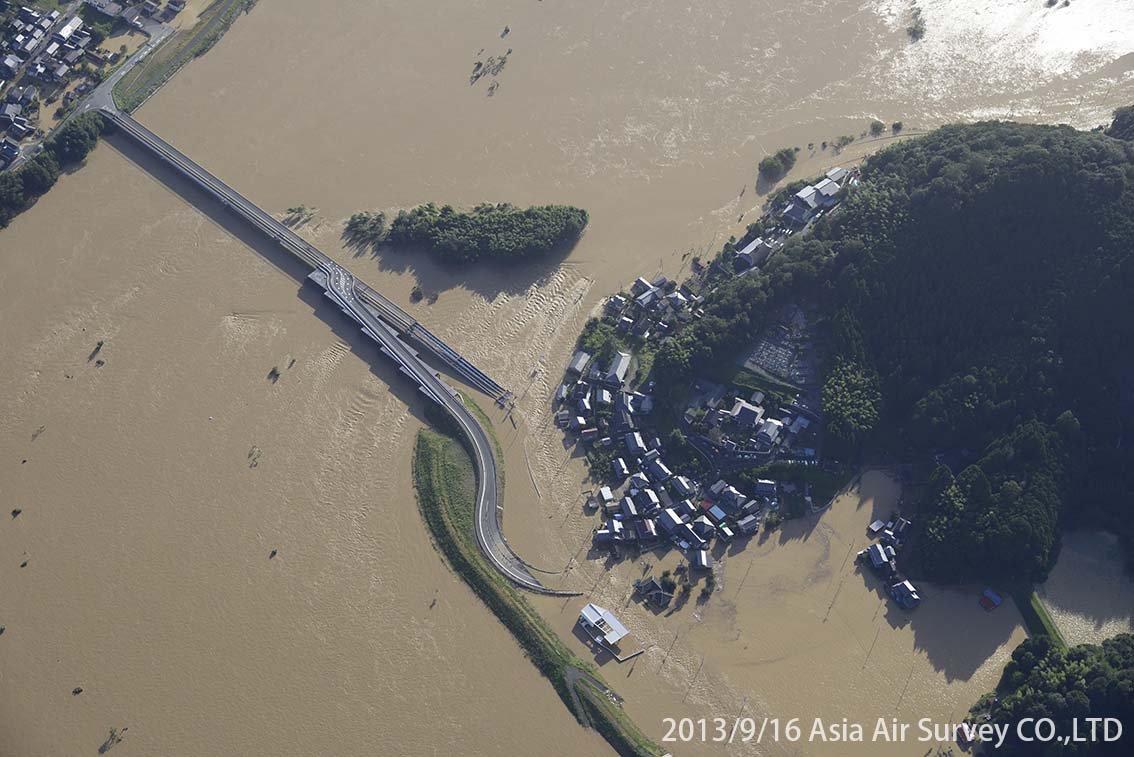 由良川地区 斜め空中写真_5