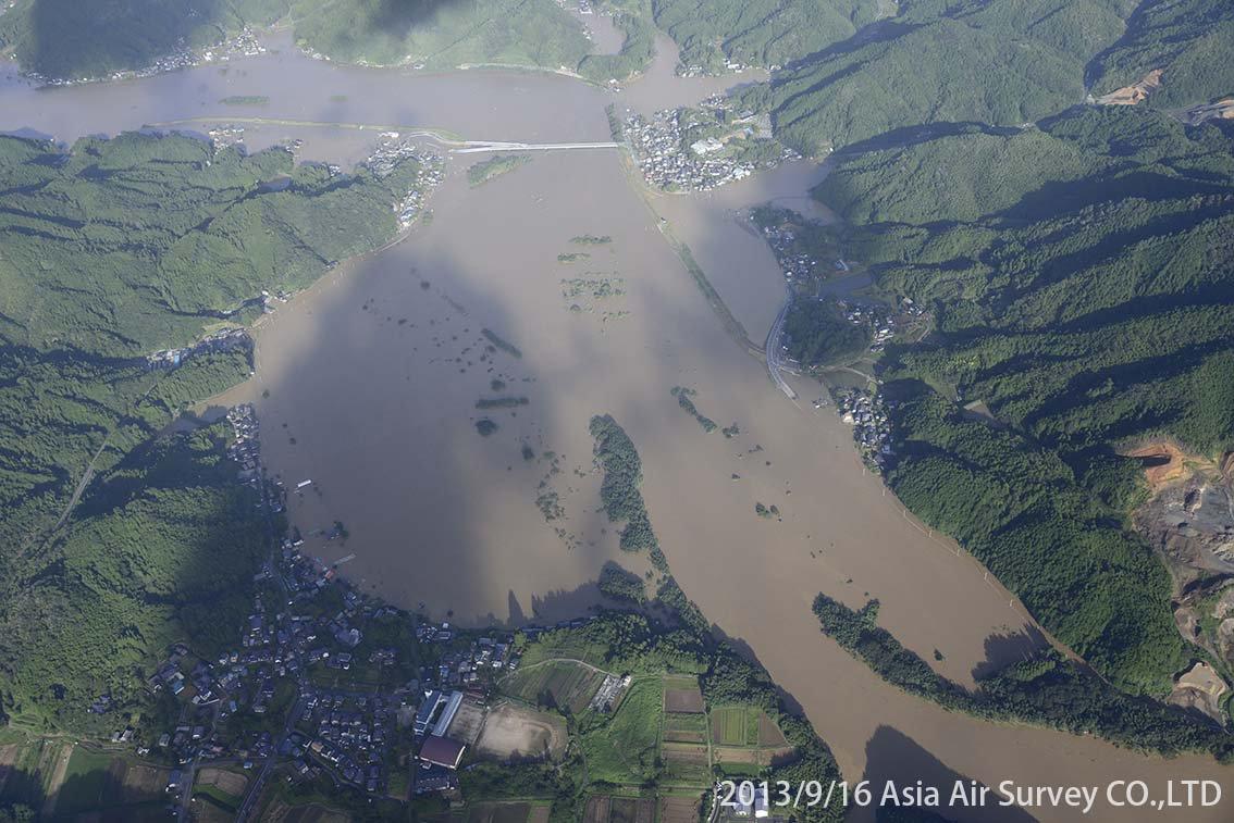 由良川地区 斜め空中写真_7