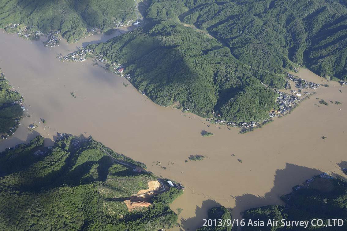 由良川地区 斜め空中写真_4