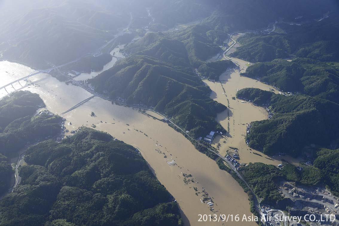 由良川地区 斜め空中写真_3