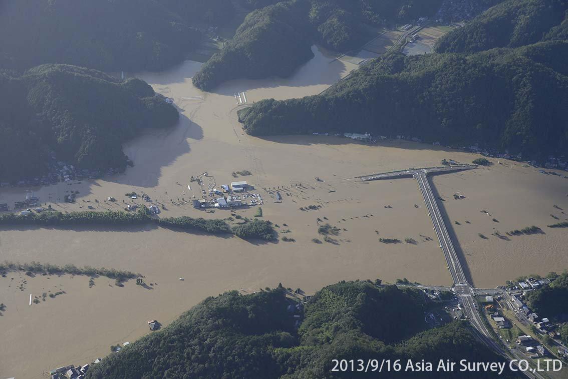 由良川地区 斜め空中写真_2