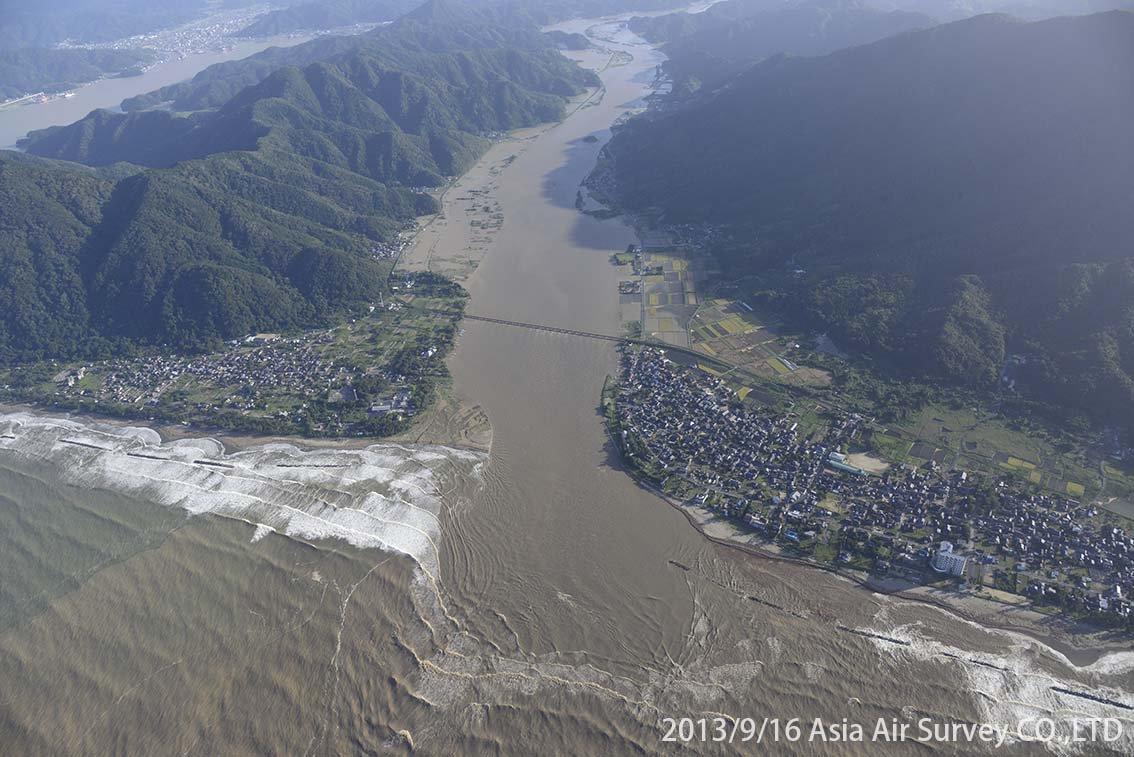 由良川地区 斜め空中写真_1