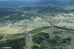 「平成30年7月豪雨」(西日本豪雨) 斜め空中写真_4