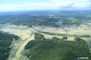 「平成30年7月豪雨」(西日本豪雨) 斜め空中写真_6