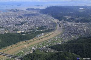 「平成30年7月豪雨」(西日本豪雨) 斜め空中写真_8