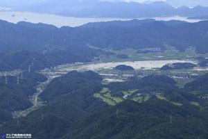 「平成30年7月豪雨」(西日本豪雨) 斜め空中写真_9