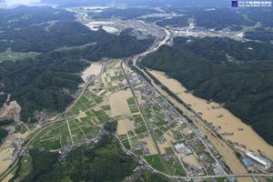 「平成30年7月豪雨」(西日本豪雨) 斜め空中写真_10