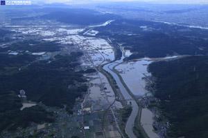 「平成30年7月豪雨」(西日本豪雨) 斜め空中写真_14