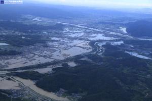 「平成30年7月豪雨」(西日本豪雨) 斜め空中写真_16