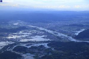 「平成30年7月豪雨」(西日本豪雨) 斜め空中写真_17