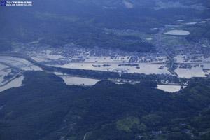 「平成30年7月豪雨」(西日本豪雨) 斜め空中写真_18