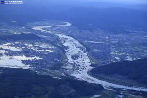 「平成30年7月豪雨」(西日本豪雨) 斜め空中写真_19