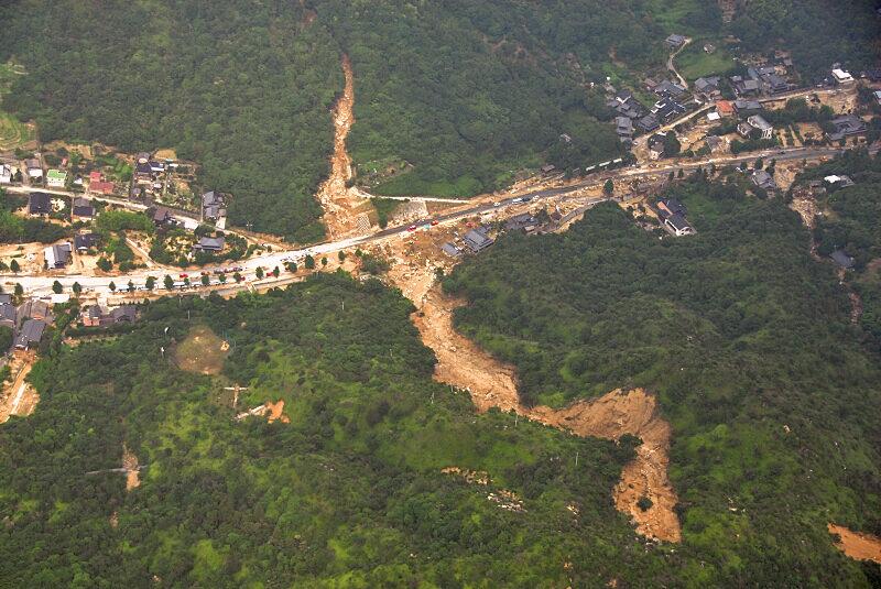 NEWS平成21年7月中国・九州北部豪雨災害