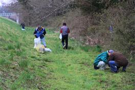 北上川流域で行われた「北上川流域一斉清掃」に参加いたしました