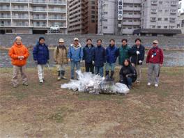 当社より22名の社員が参加し、計15袋のごみを回収いたしました