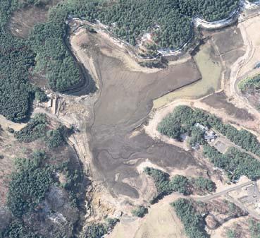 デジタル航空撮影 福島県藤沼ダム